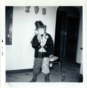 Back in 1963, it was OK to be a hobo for Halloween