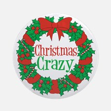christmas_crazy_wreath_ornament_round
